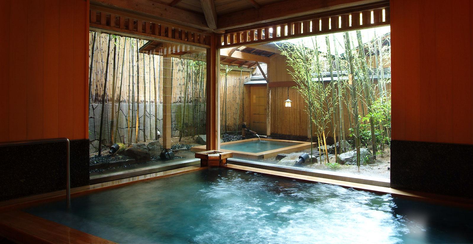 兵庫 城崎温泉 西村屋本館 大浴場の写真