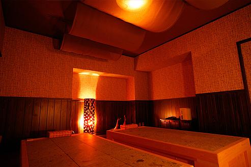 兵庫 城崎温泉 旅館泉翠 岩盤浴の写真