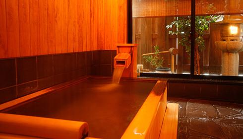 兵庫 城崎温泉 旅館泉翠 貸切風呂の写真