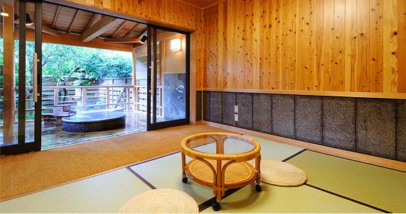兵庫 城崎温泉 ゆとうや旅館 貸切露天風呂の写真