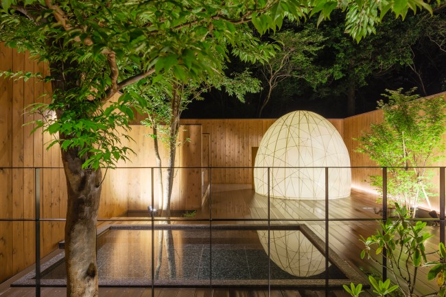 繭の形をしたスチームサウナが人気【小田急箱根レイクホテル】の基本情報