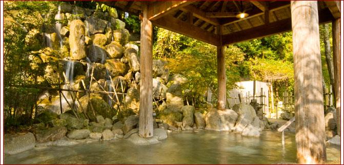 3000坪もの敷地を誇る那珂川の野天風呂