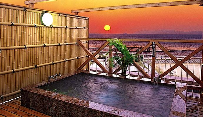 長崎の老舗旅館で楽しめる小浜温泉