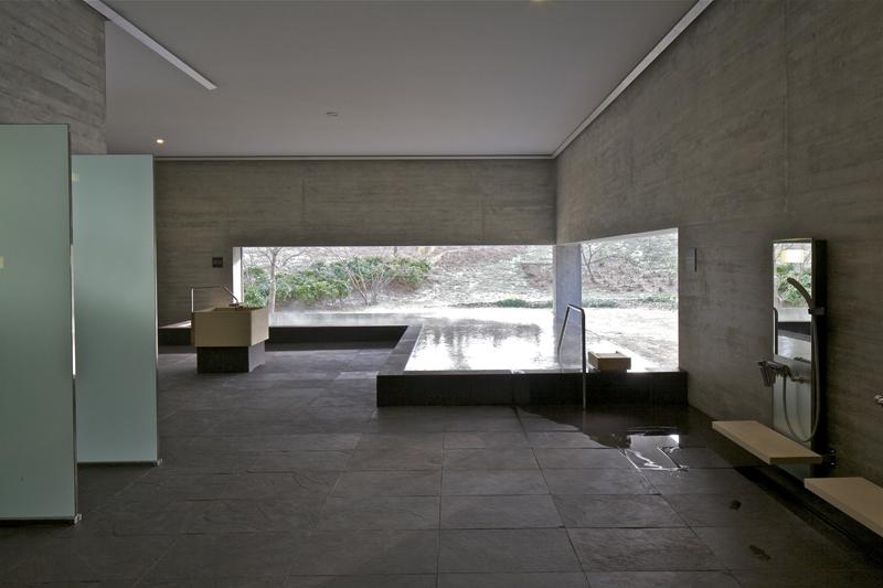 雰囲気の違う浴場