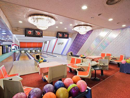 勝浦ホテル三日月 ボーリング