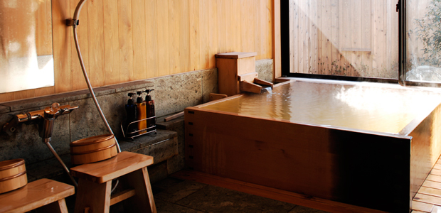 きぬの湯の貸切風呂