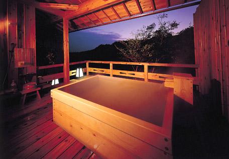 三重 慶泉 貸切露天風呂の写真