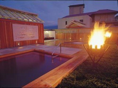 三重 湯元榊原館 展望風呂の写真