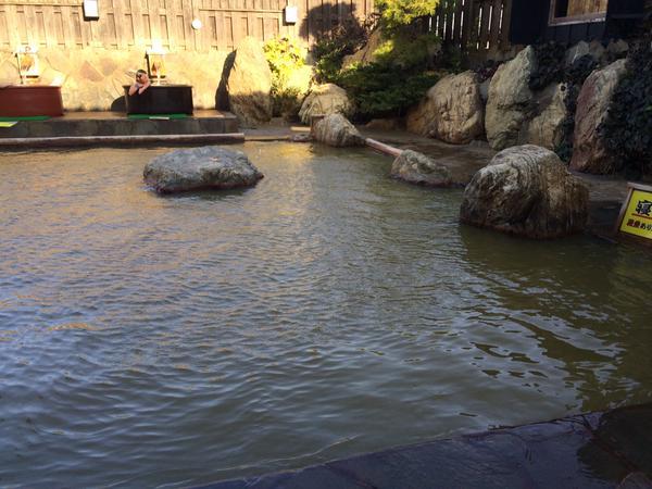 みのりの湯 スパリゾート柏の露天風呂