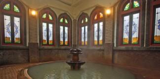 長野 渋温泉金具屋 風呂の写真