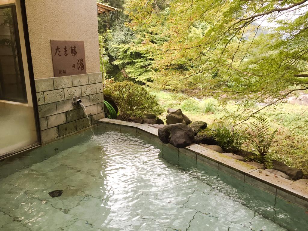 温泉を飲める「飲泉」ができる露天風呂