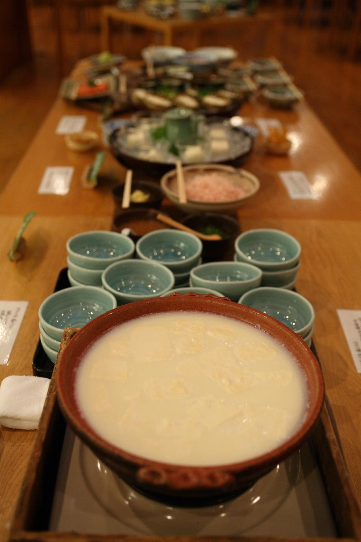佐賀 椎葉山荘 湯とうふの写真