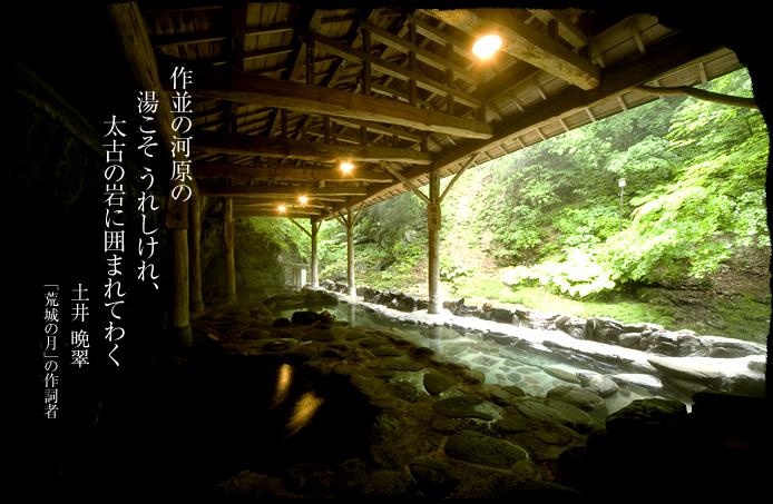仙台 岩松旅館 岩風呂の写真