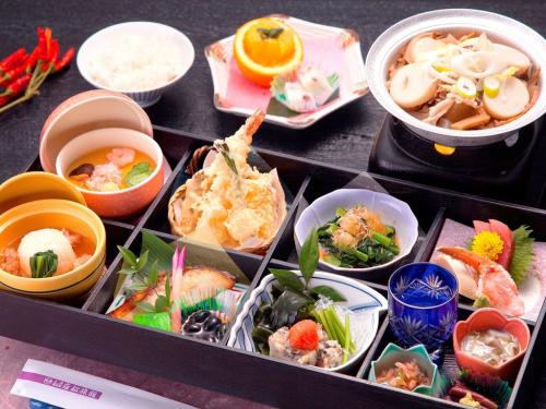 仙台 岩松旅館 料理の写真
