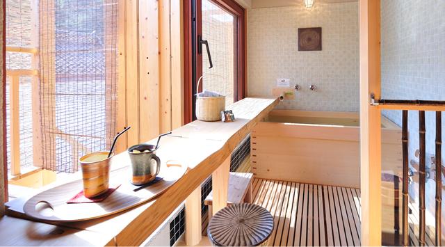 島根 御前湯 貸切露天風呂の写真