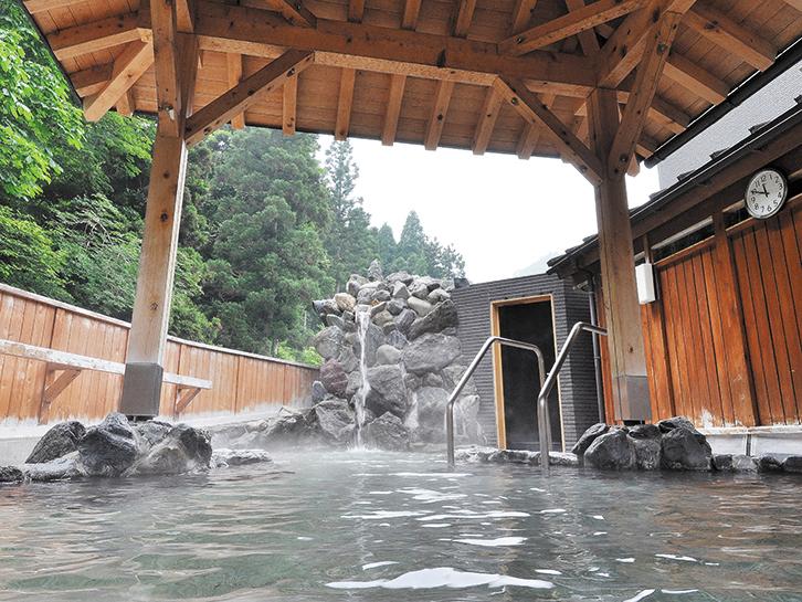久瀬温泉 白瀧の湯 露天風呂