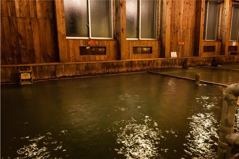 玉川温泉湯治館そよ風 お風呂
