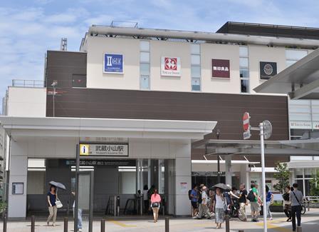 東京 清水湯 駅の外観の写真