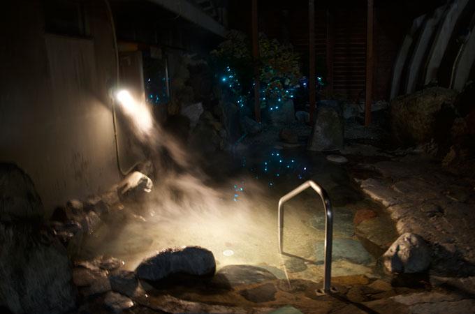 里塚温泉ゆとりの露天風呂の写真