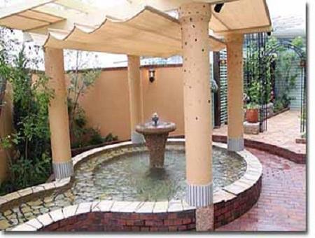 福岡県天然温泉 大木の湯 アクアス 洋風露天風呂