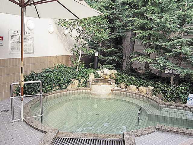 兵庫県鹿の子温泉かのこの湯 洋風露天風呂