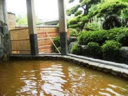 兵庫県天然温泉 石道 露天風呂(岩風呂)