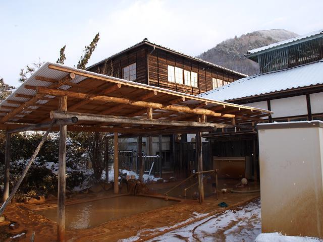 加賀井温泉の露天風呂