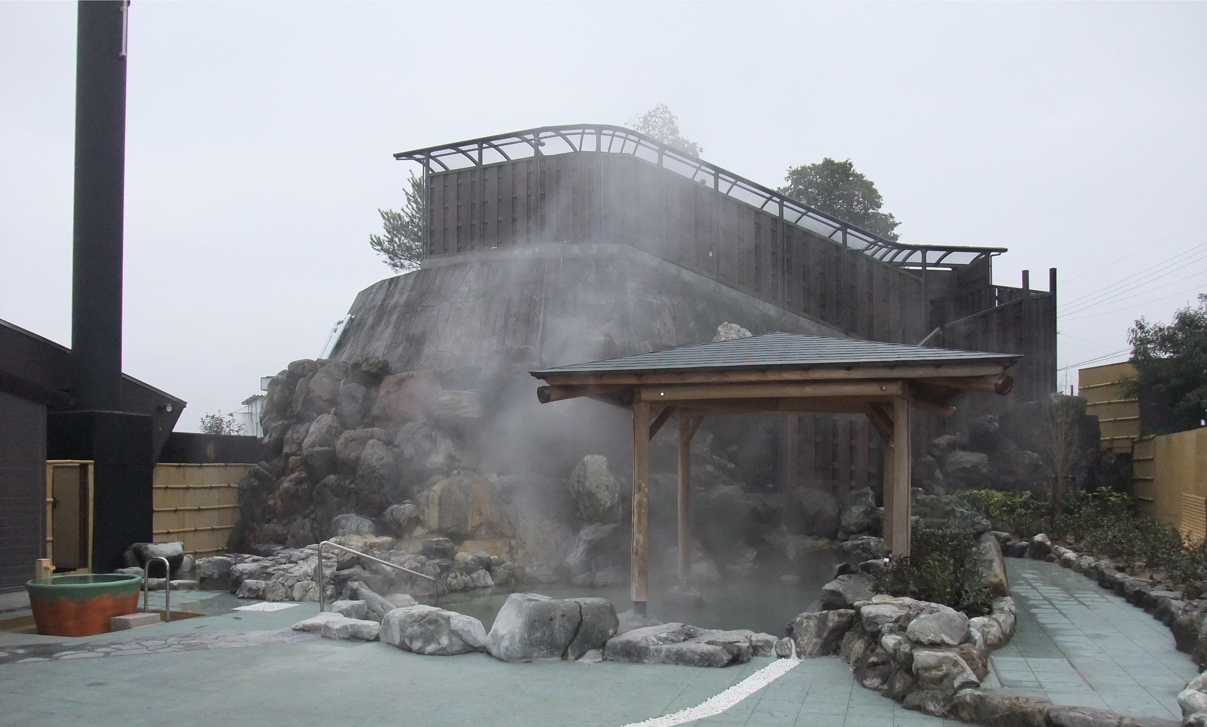 月ヶ瀬温泉 露天風呂