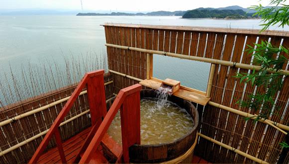 小松屋渚館 露天風呂