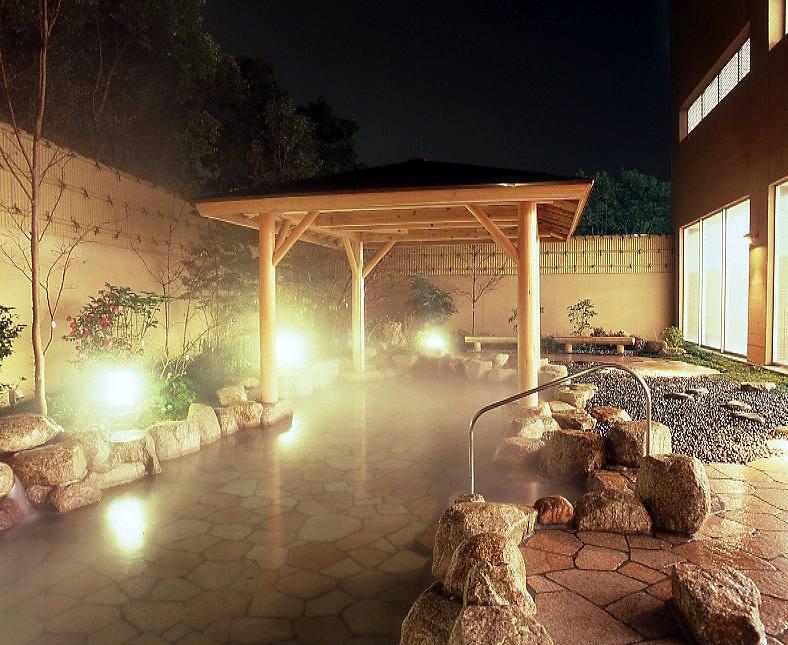 竹の郷 露天風呂