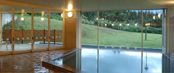 舞子高原ホテルのジャグジー付き内湯