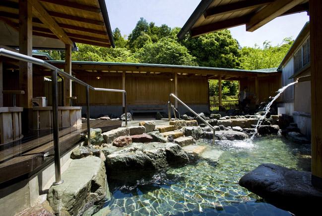 サン浦島 露天風呂