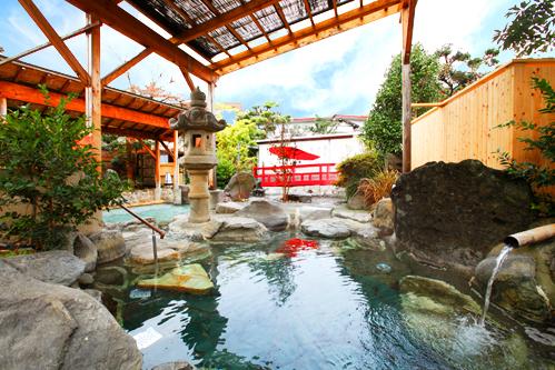 七沢荘 露天風呂