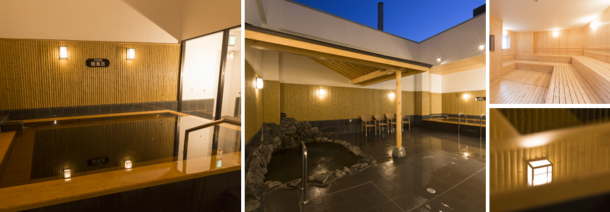 モエレ天然温泉 たまゆらの杜の天然風呂の写真