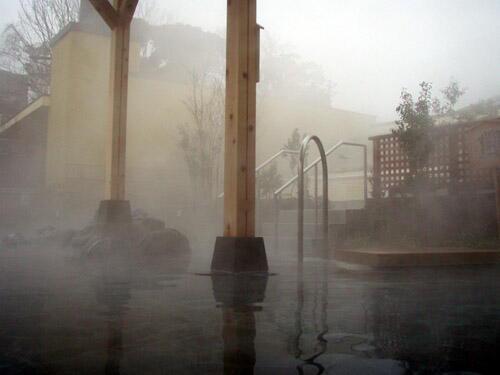 竜泉寺の湯 露天風呂