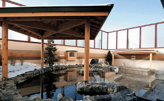 東苗穂温泉 千の湯の露天風呂の写真