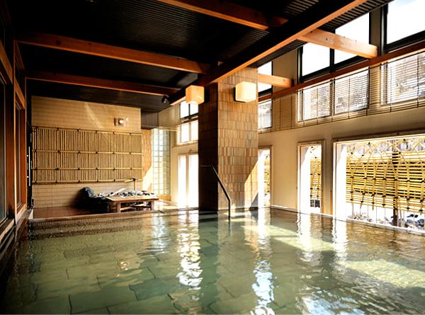 定山渓温泉 鹿の湯の温泉の写真