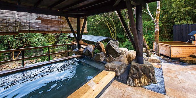 四国随一の湯量と泉質の良さが自慢のそうだ山温泉