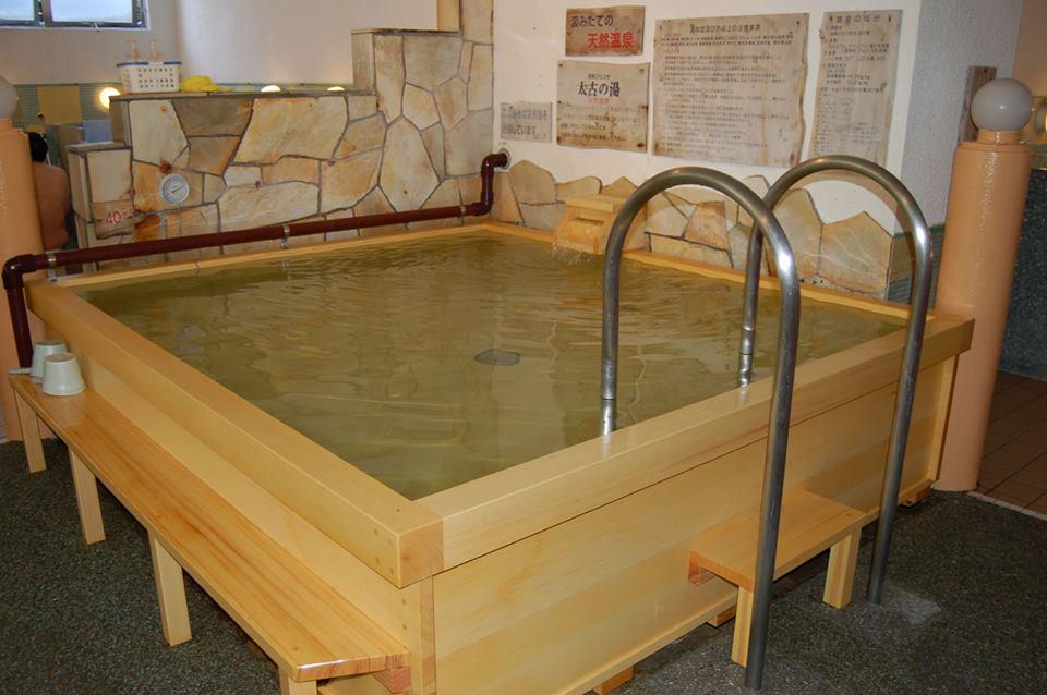 太古の湯 内湯の天然温泉