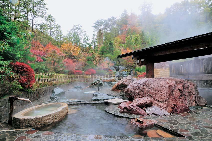 地蔵温泉 十福の湯 露天風呂