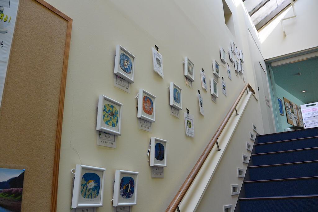 下田大和館の階段