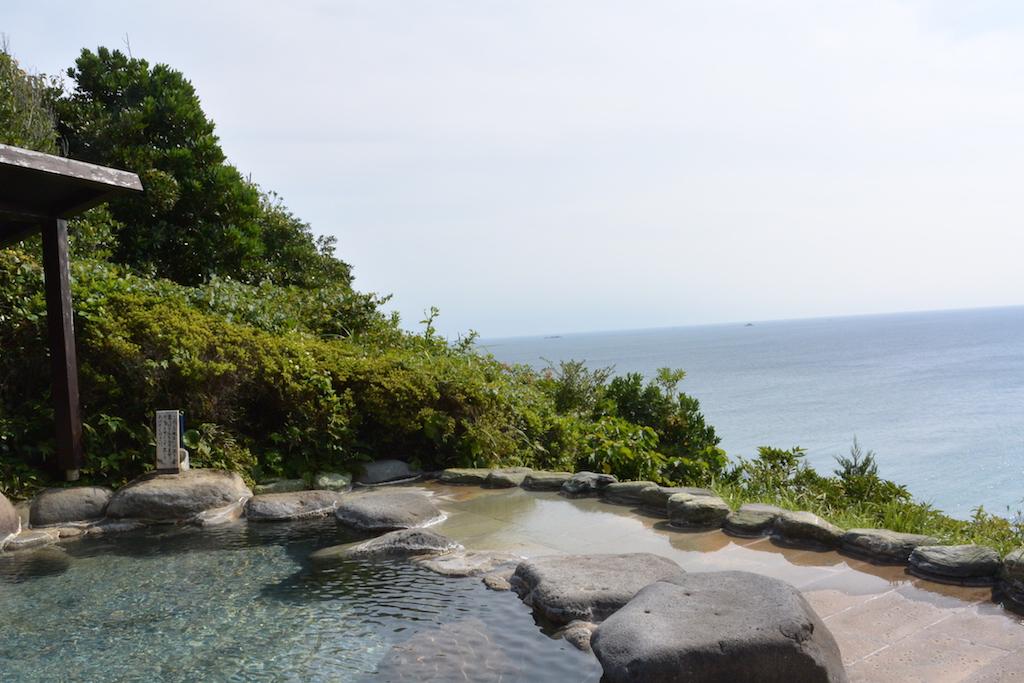 下田大和館の山頂露天風呂