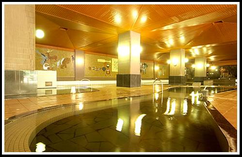 定山渓ホテルの大浴場の写真