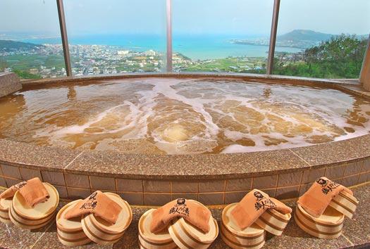 ユインチホテル南城内にある温泉施設、猿人の湯