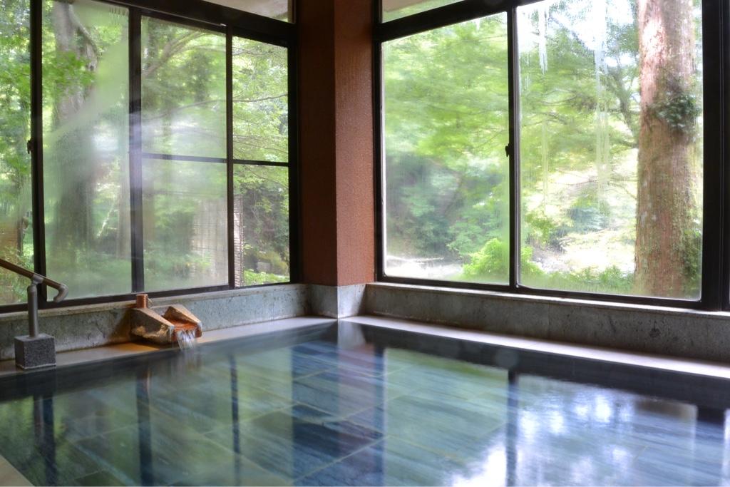 景観抜群のお風呂