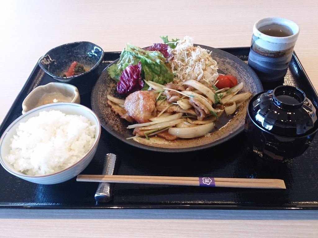 料理(生姜焼き)