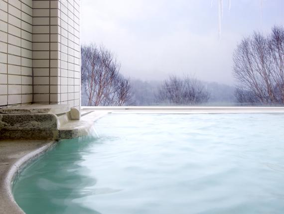 日本で一番標高の高い場所にある万座温泉