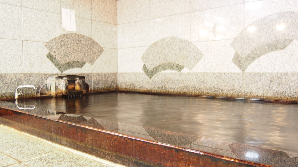 檜乃湯のお風呂