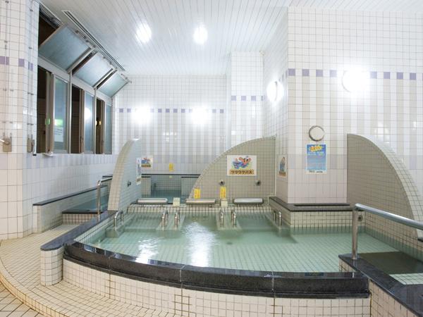 那覇セントラルホテルに併設されている温泉施設りっかりっか湯、