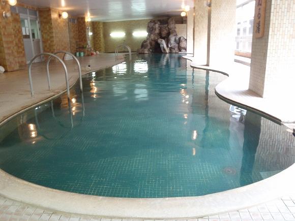 土湯温泉一を誇る全長20mの大浴場!山根屋